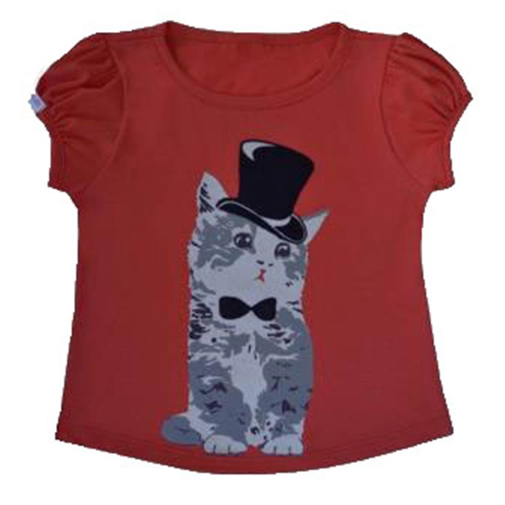 Camiseta Funny Cat Cartola