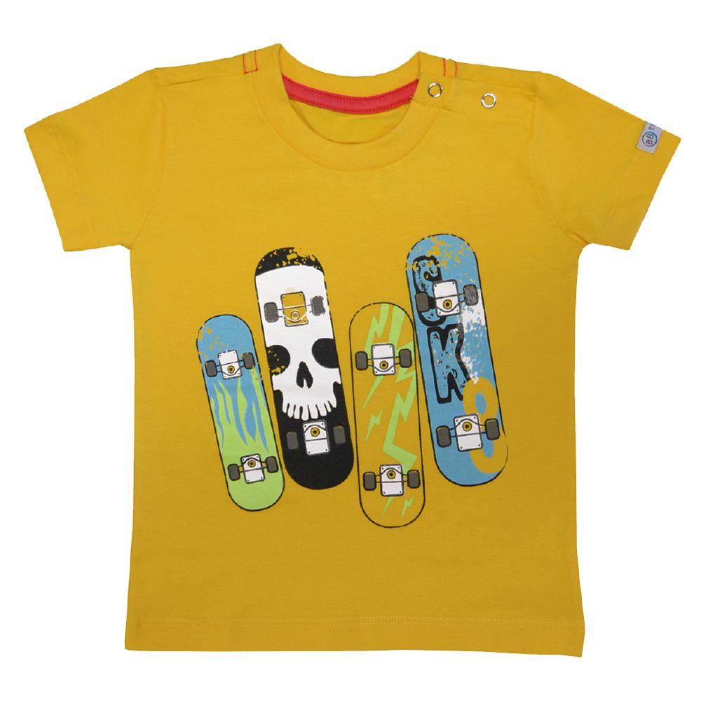 Camiseta Funny Skate Girassol