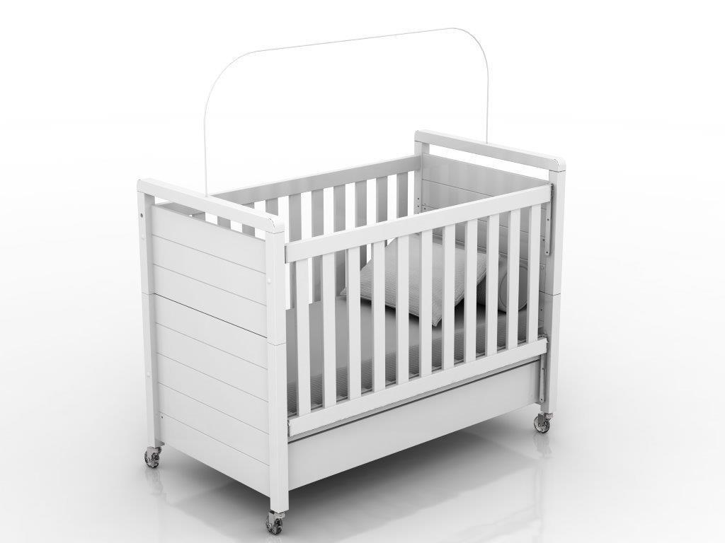 Linha Nature - Quarto Completo -  Nature Bebê Branco