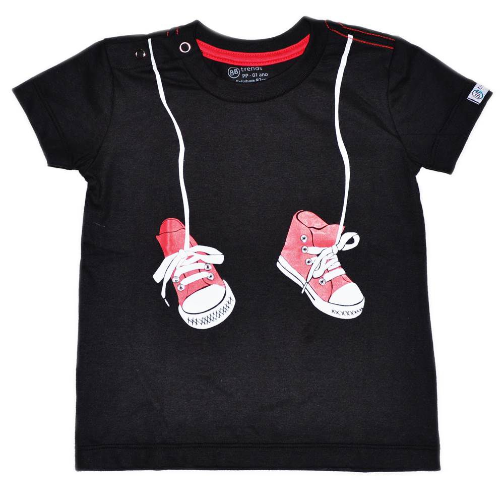 Camiseta Funny Tênis Pendurados