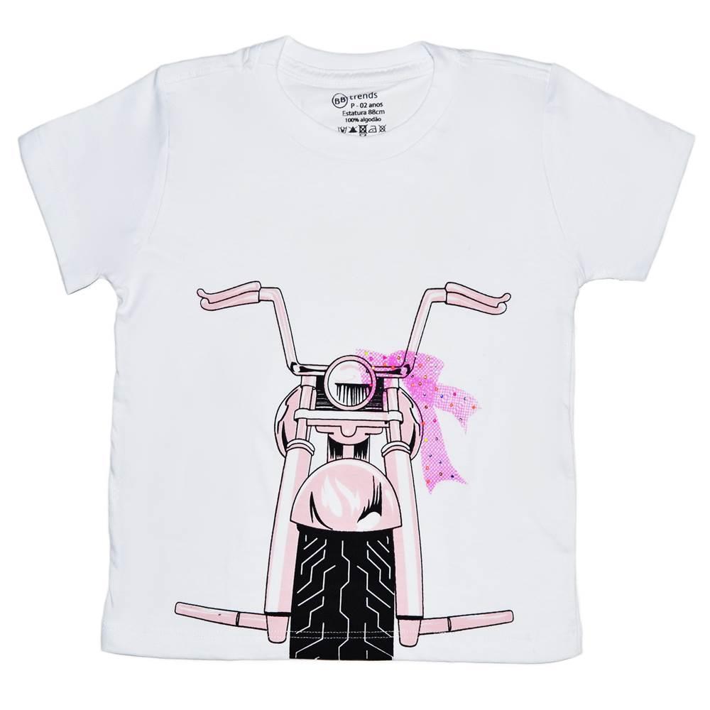 Camiseta Funny Moto Girl