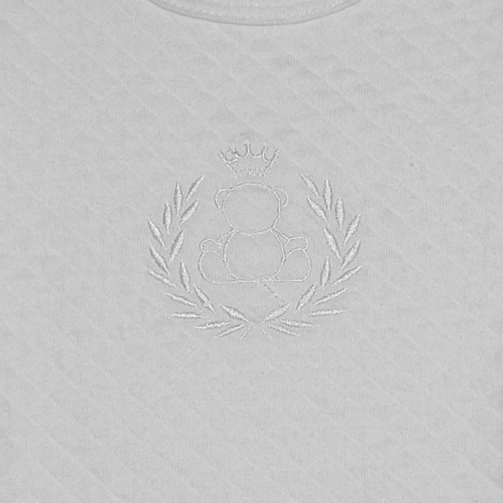 Kit Body Ursinhos - 2 peças - Matelasse - Manga Longa