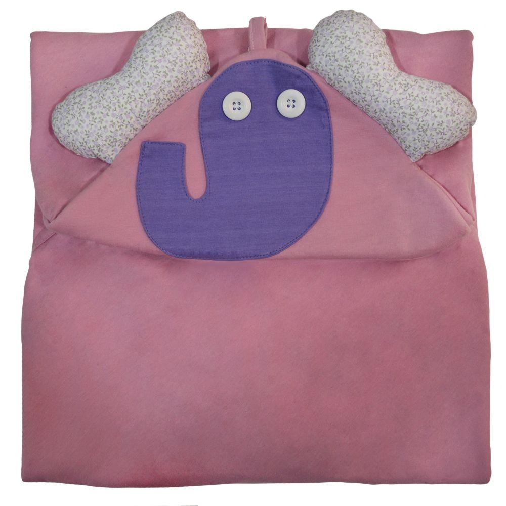 Toalha com Capuz - Elefante  - BBtrends