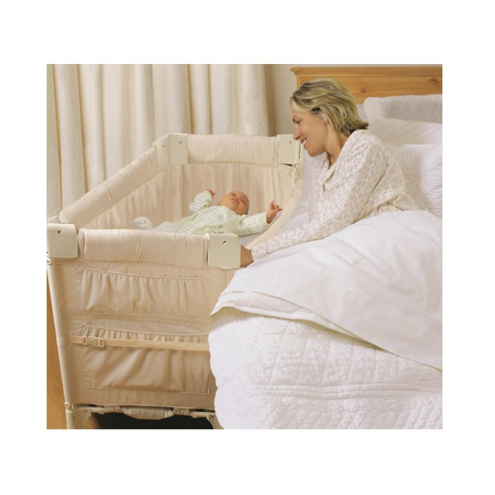 Berço Co-Sleeper Mini Arc Toffee - Peca de mostruario