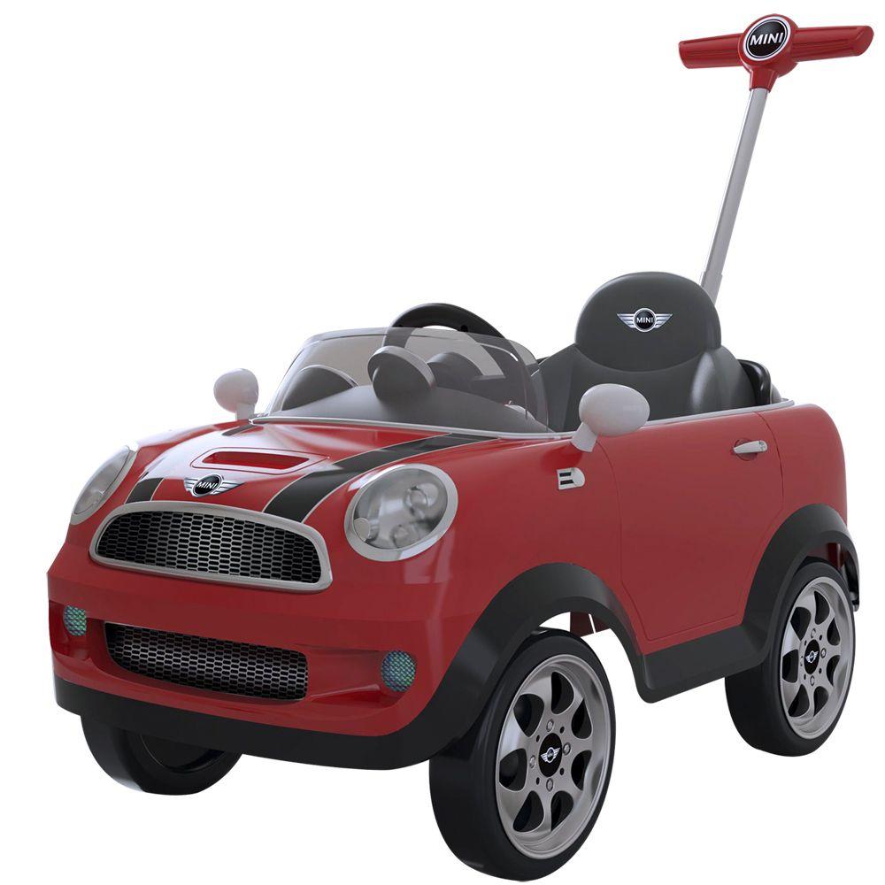 Mini Cooper Push Baby c/ Emp. - Biemme