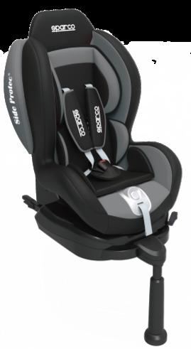 Cadeira F500i - Isofix - Sparco  - Cinza