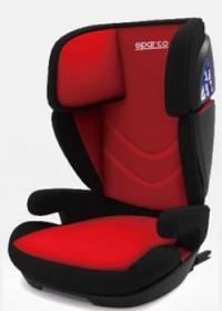 Cadeira F700i Sparco - Isofix - 15 à 36 Kg - Vermelha