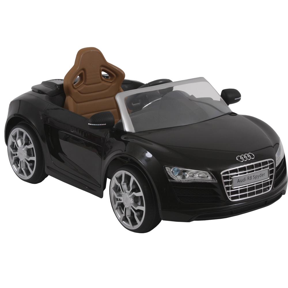 Mini Audi R8 Preta - Biemme - Peca de mostruario