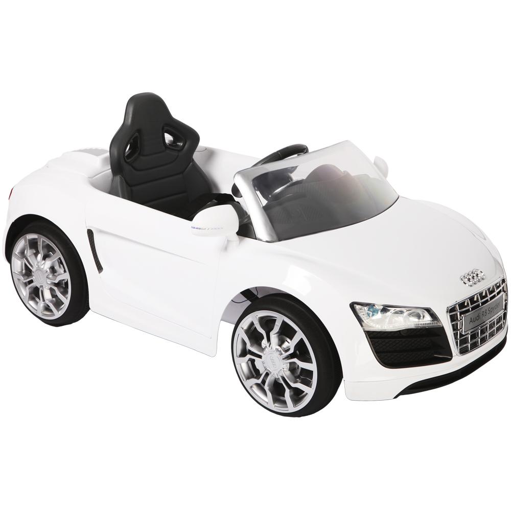 Mini Audi R8 Branco - Biemme