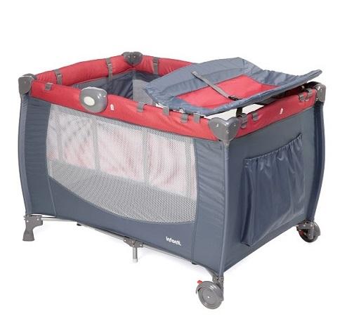 Berco Portatil Cielo - Vermelho - INFANTI - 0 a 15 kg
