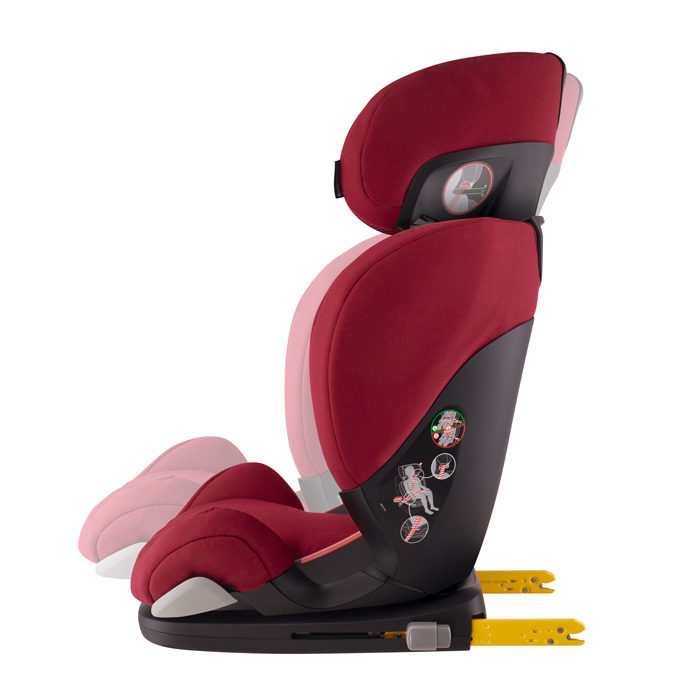 Cadeira Rodifix AirProtect- Robin Red - 15 a 36kg - Maxi Cosi