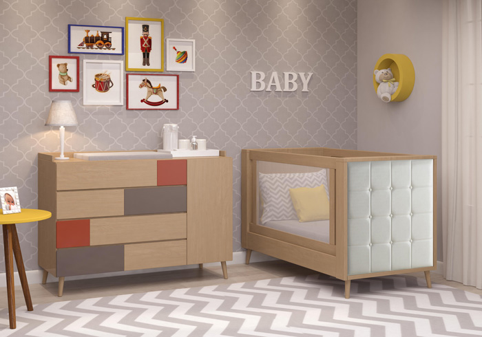 Linha JET Baby - Quarto Completo - Jet baby