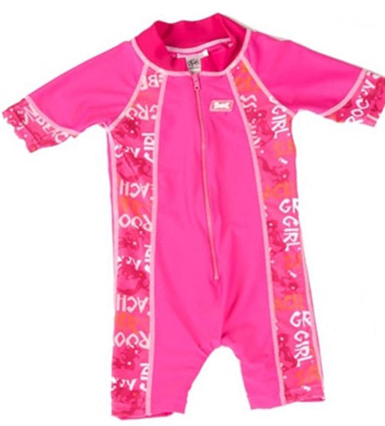 Macacão para Banho Banz - Proteção UPF 50+ - Pink