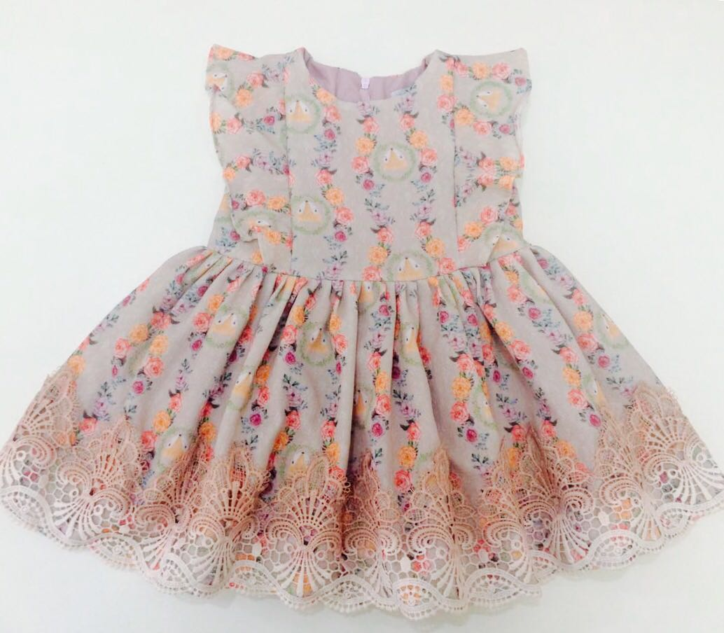 Vestido Alice - Raposinha