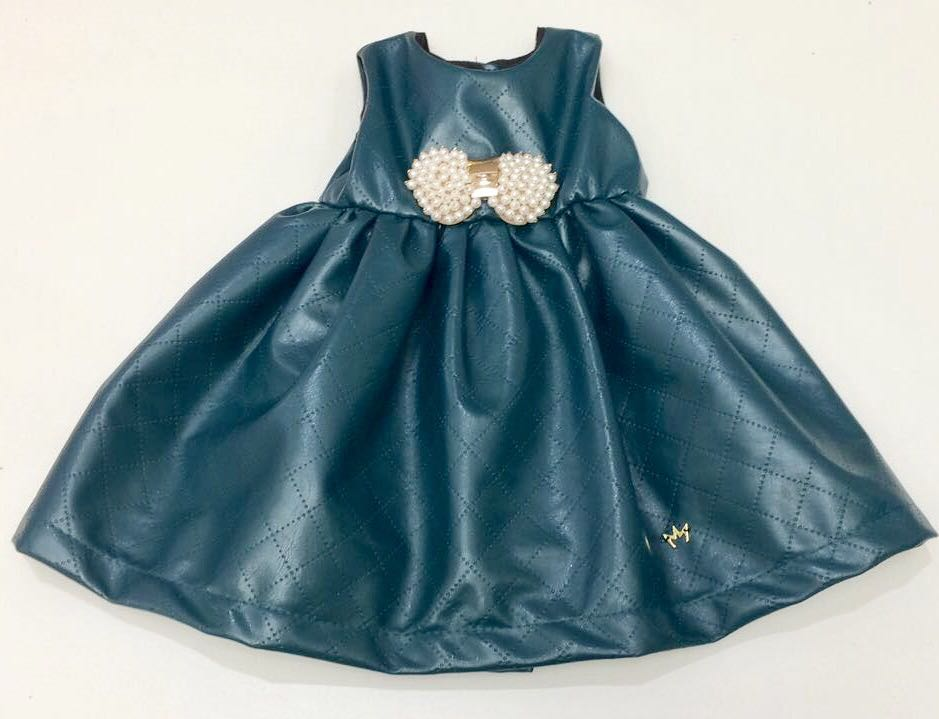 Vestido Claire - Azul Petróleo