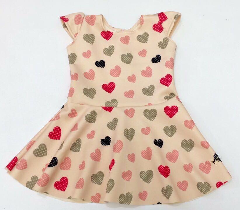 Vestido Sofia - Corações