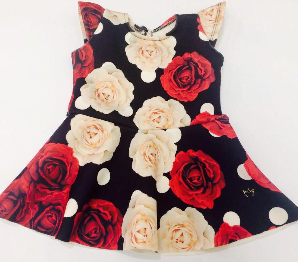 Vestido Sofia - Rosas