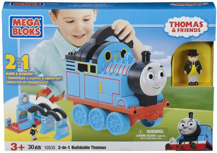 MEGA BLOKS Thomas & Friends 2-em-1 Buildable Thomas