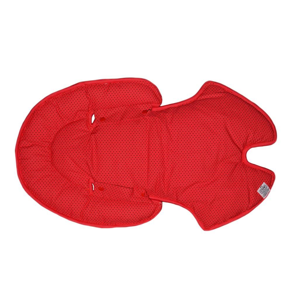 Hug - Almofada Anatômica dupla face Vermelha Poá