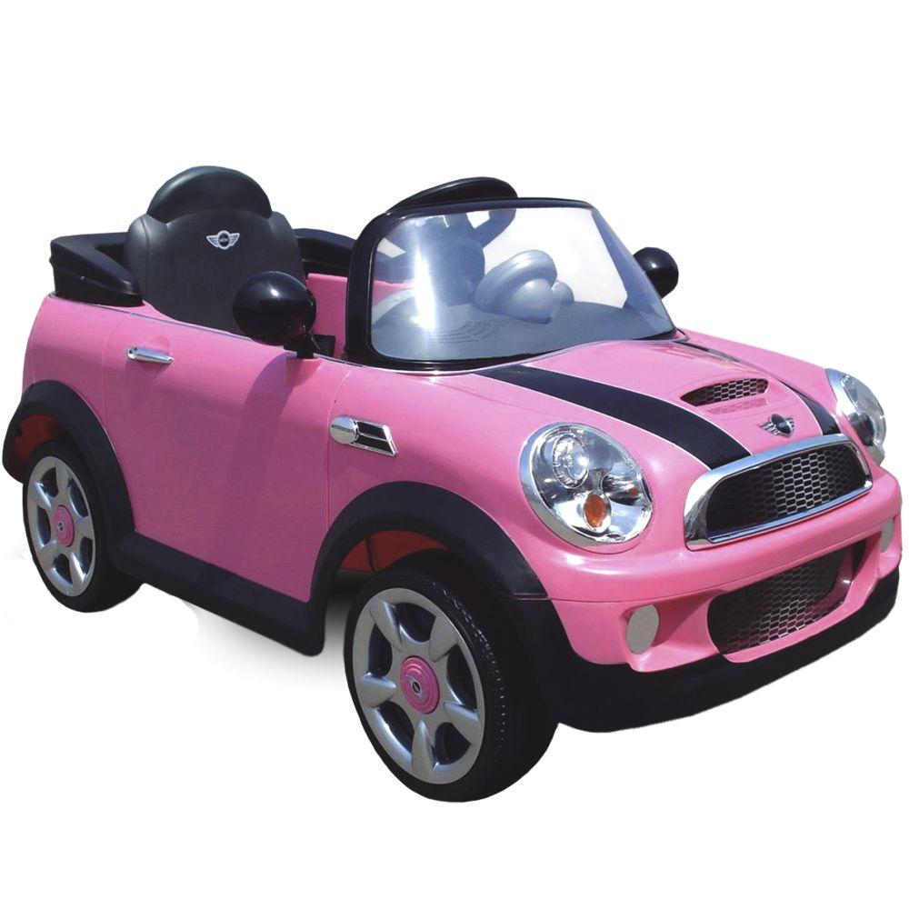 Mini Cooper Rosa - Biemme - Peca de mostruario