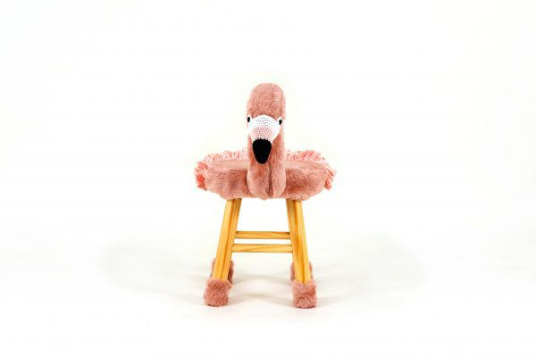 Amigos da Natureza- Emma o Flamingo