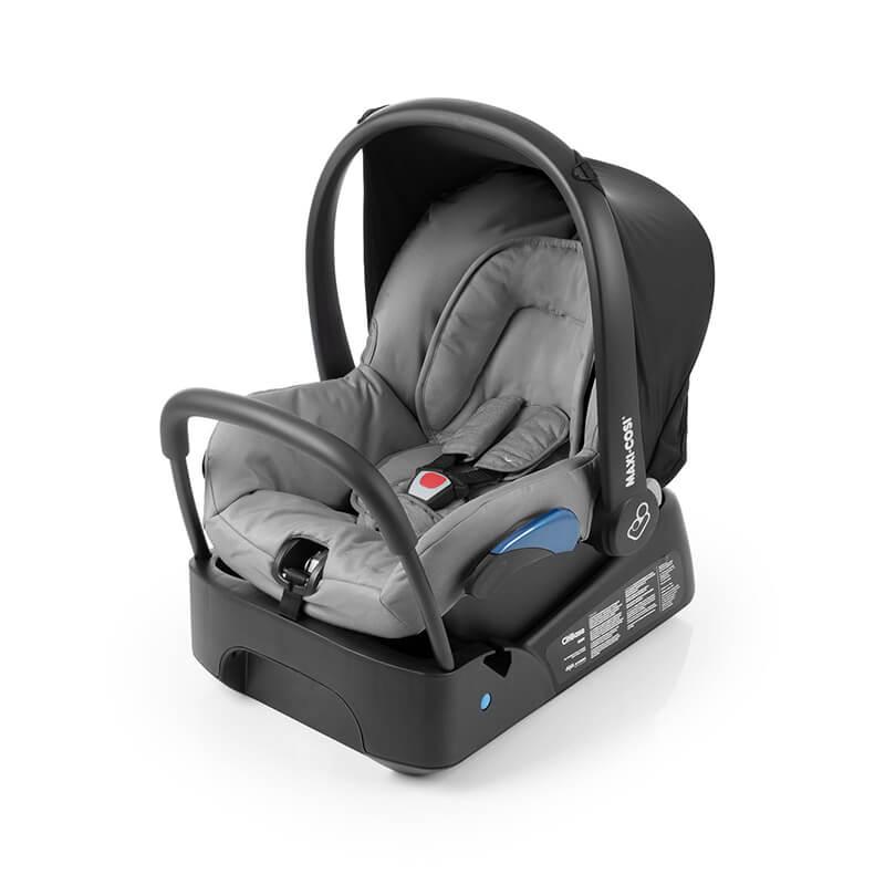 Bebê Conforto Citi Maxi Cosi c/ Base - 0 à 13 Kg - Nomad Grey
