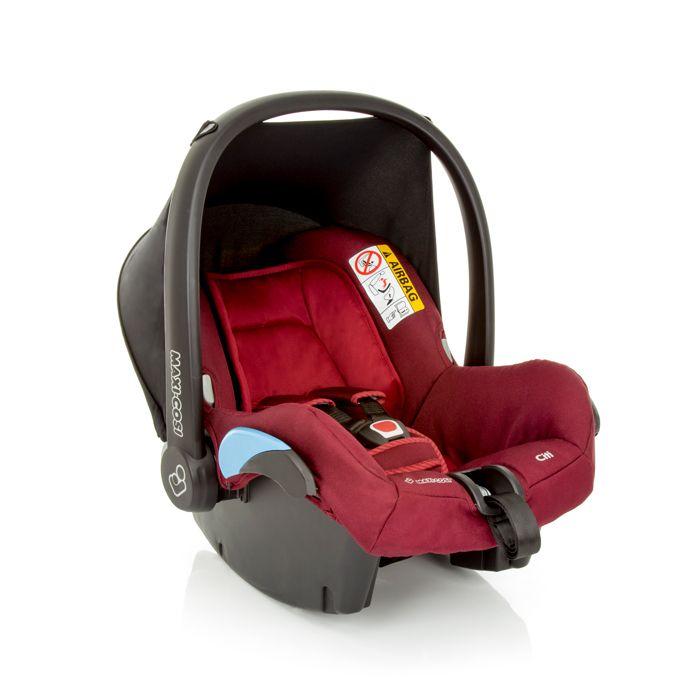 Bebê Conforto Citi Maxi Cosi c/ Base - 0 à 13 Kg - Robin Red