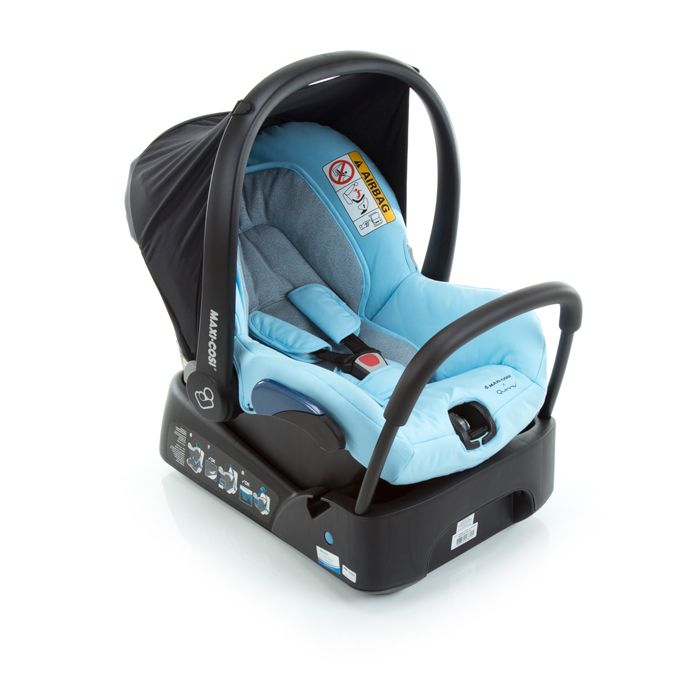 Bebê Conforto Citi Maxi Cosi c/ Base - 0 à 13 Kg - Sky