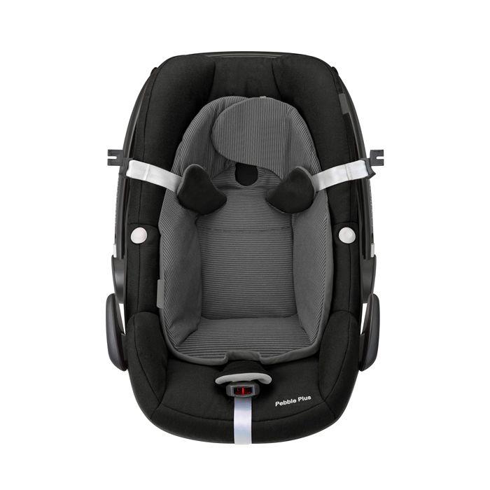 Bebe conforto Pebble Plus Black Raven - 0 à 13 Kg - Maxi Cosi