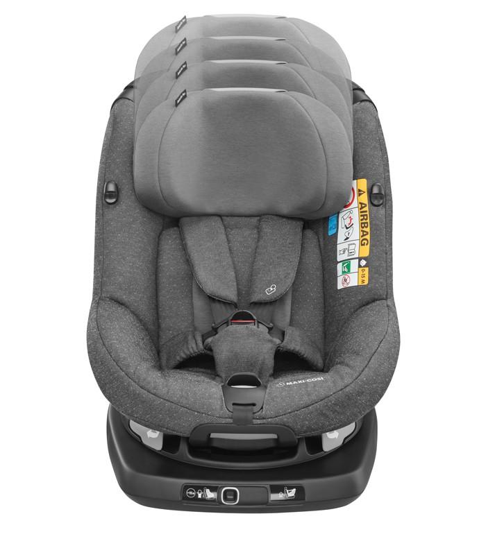 Cadeira AxissFix Plus - Sparkling Grey - Maxi Cosi
