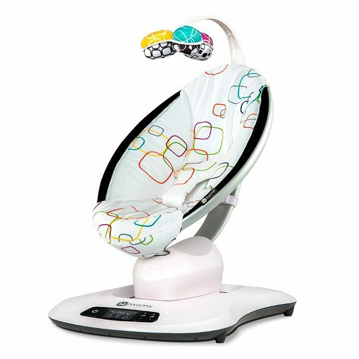 Cadeira Mamaroo 4.0 Multi Color Plush - 4Mooms