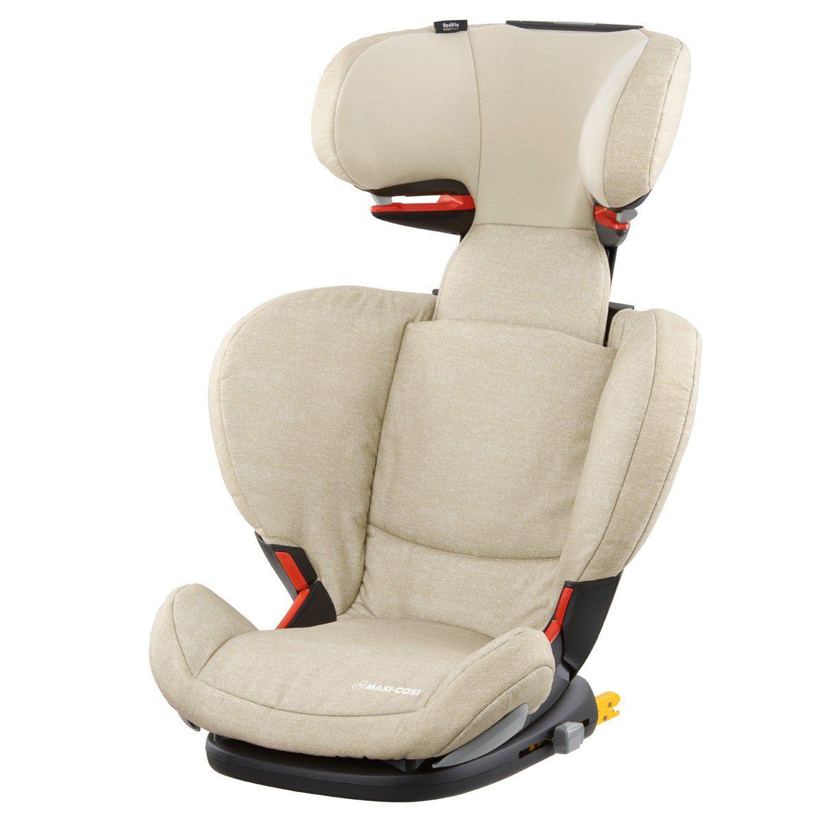 Cadeira Rodifix AirProtect - Nomand Sand -15 a 36 kg - Maxi Cosi