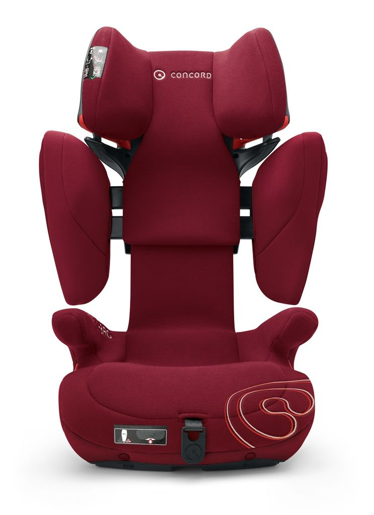 Cadeira Transformer X-BAG 15 à 36 Kg - Bordeaux - Isofix - Concord
