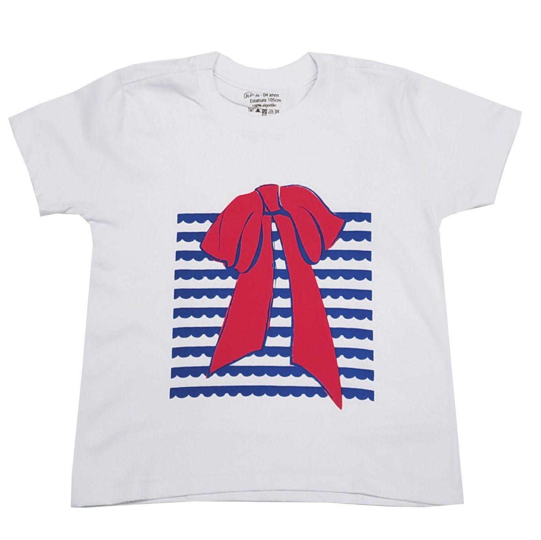 Camiseta Funny Lady Laço