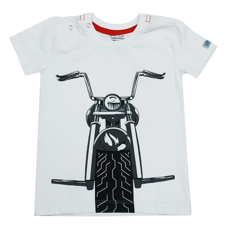 Camiseta Funny Moto Boy
