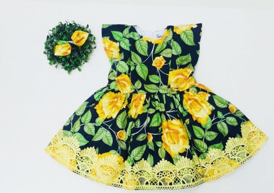 Vestido Alice Amarelo