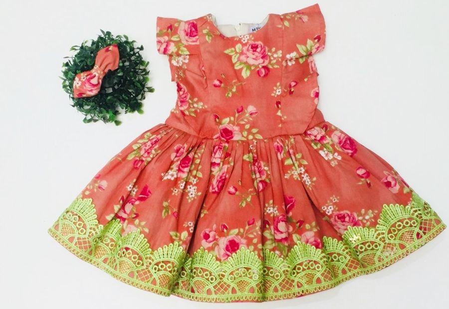Vestido Alice Salmão