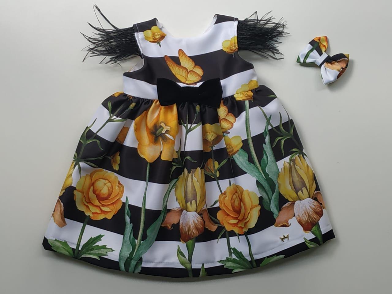Vestido Chanel Flores