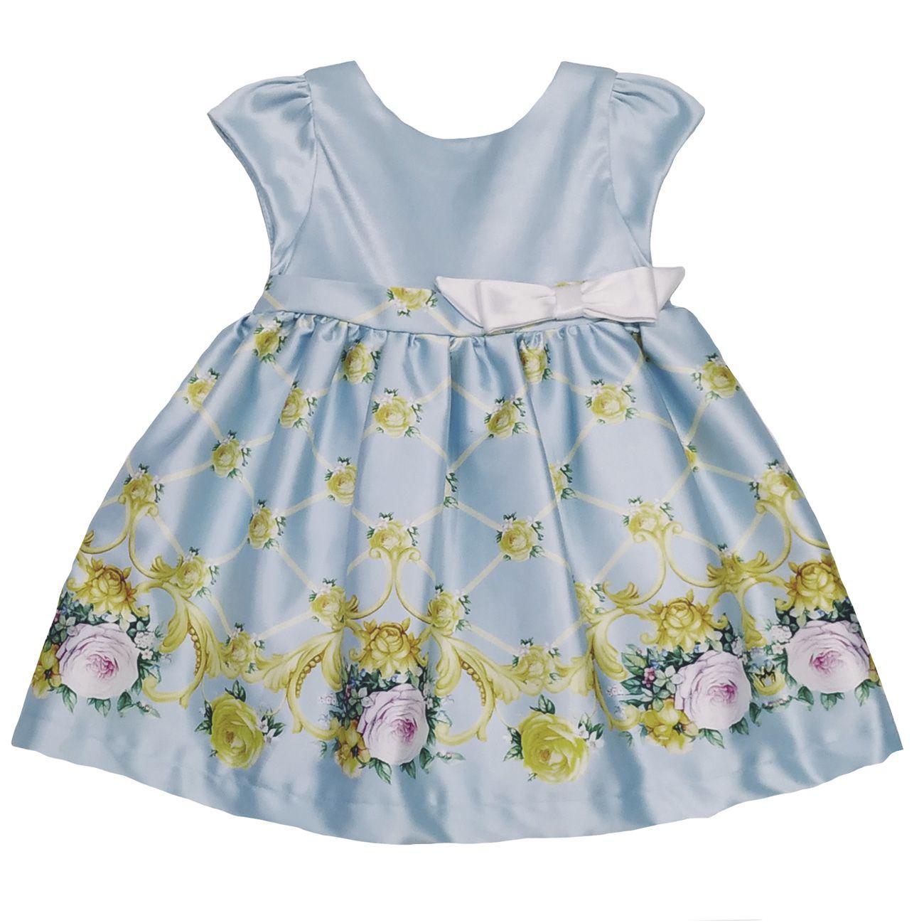 Vestido Chloe - Celeste