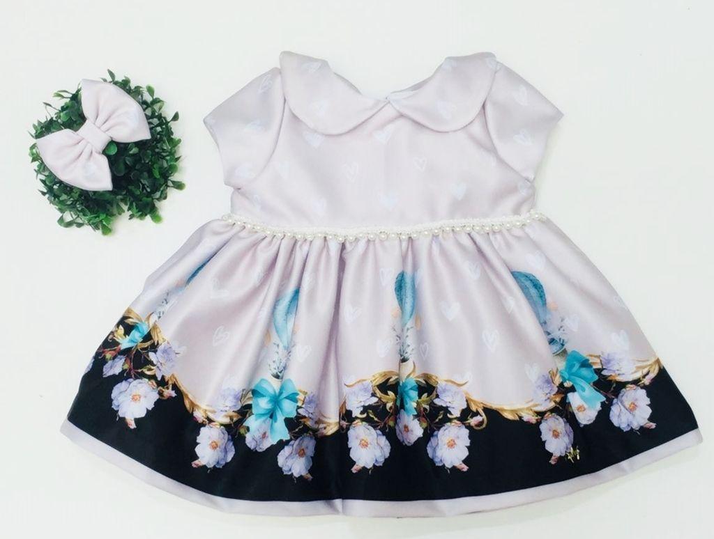 Vestido Lila Azul