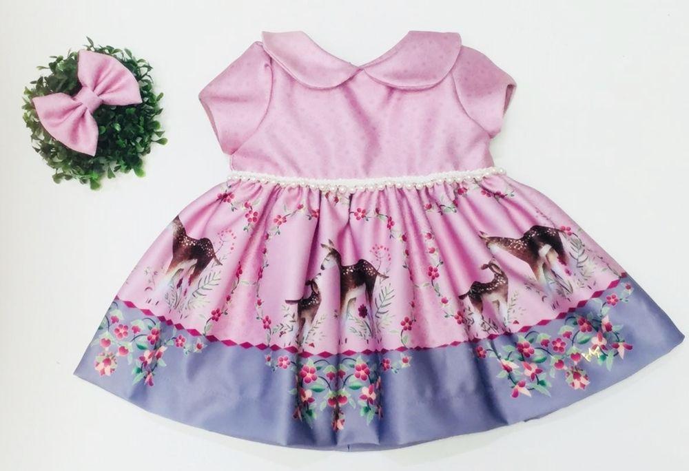 Vestido Lila Rosa
