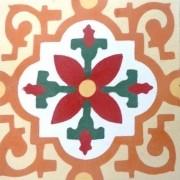 Adesivo para Azulejo Ladrilho Hidráulico Alméria 15x15cm 16 peças Cosi Dimora