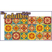 Adesivo para Azulejo Ladrilho Hidráulico Mosaico