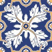 Adesivo para Azulejo 15x15cm Português Estampado 16 peças Cosi Dimora