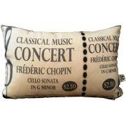 Capa de Almofada Classical Music Concert Cosi Dimora