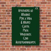 Pôster Adesivo Verde