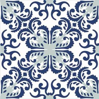 Adesivo para Azulejo 15x15cm Português Artístico 16 peças Cosi Dimora