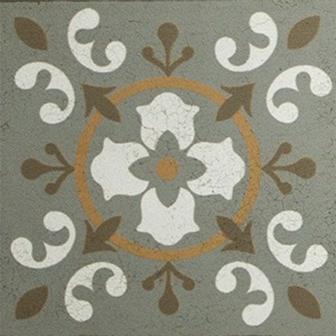 Adesivo para Azulejo 15x15cm Ladrilho Hidráulico Artístico 16 peças Cosi Dimora