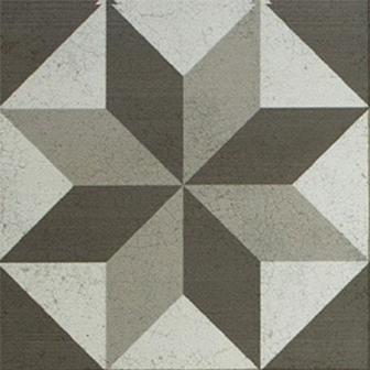 Adesivo para Azulejo 15x15cm Ladrilho Hidráulico Estilizado 16 peças Cosi Dimora