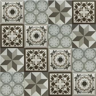 Adesivo para azulejo 15x15cm ladrilho hidr ulico mosaico - Azulejos para mosaicos ...
